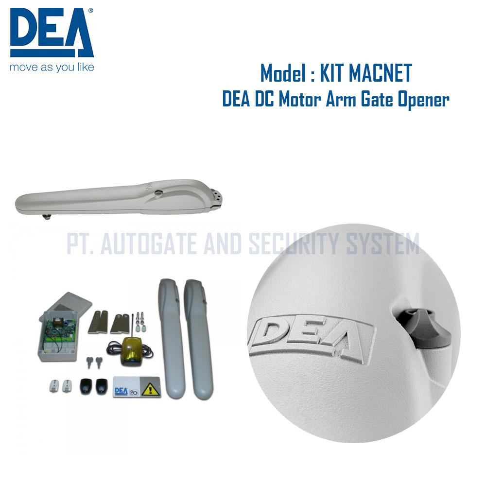 Cổng mở cánh tay đòn DEA STING 220V - Made in Italy