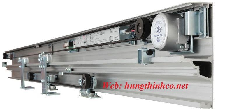 Cửa kính trượt tự động KTH TH W2 Made in Taiwan
