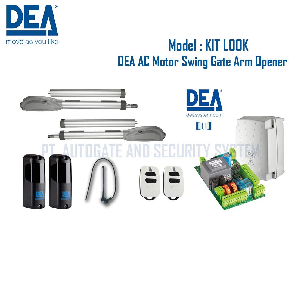 Cổng mở cánh tay đòn DEA 371/NET- Made in Italy