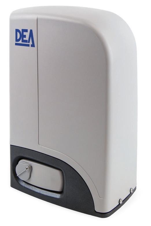 Cửa cổng lùa trượt DEA 900kg - Made in Italy
