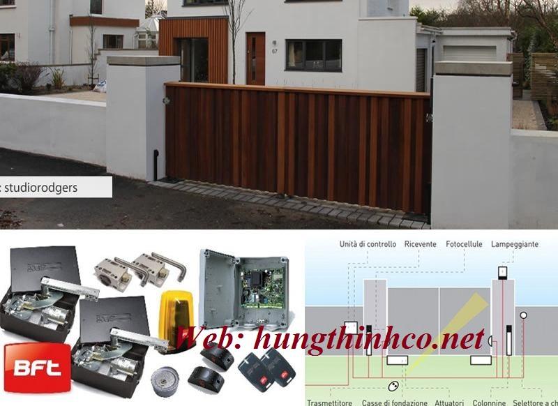 Cửa cổng mở âm sàn ELI 250N V - 150kg